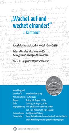 Cover Flyer Hoerde 2019 (Foto: www.hoerde2019.org)