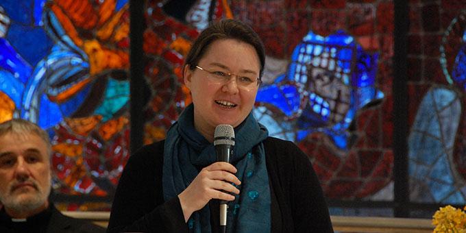 Schwester M. Patricia Stewart (Foto: Brehm)