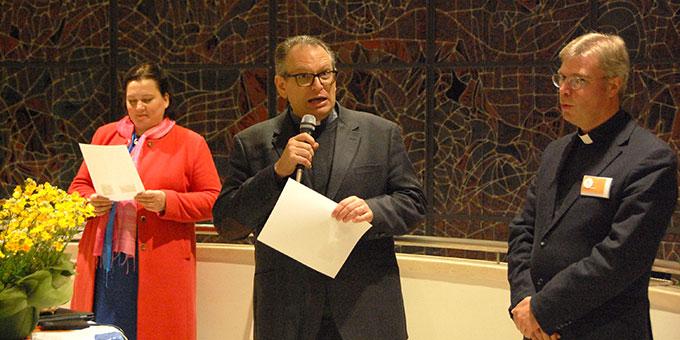 Don Marcelo dankt der schwäbischen Schönstatt-Familie für ihr großartiges Engagement(Foto: Brehm)