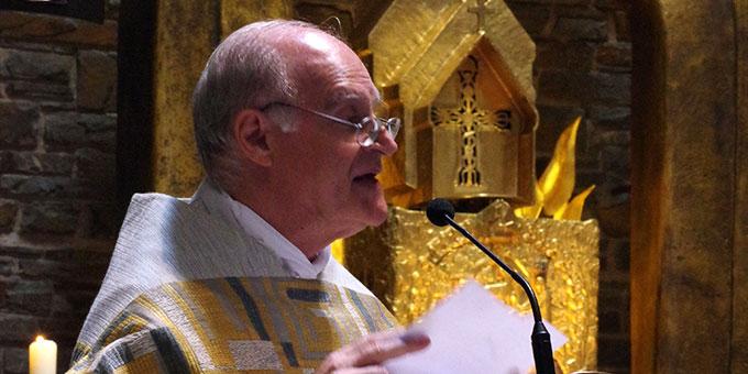 Würdigung: Pater Juan Pablo Catoggio (Foto: Neiser)