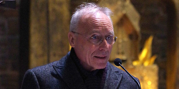 Würdigung: Severin Schmid, Fokolarbewegung (Foto: Neiser)