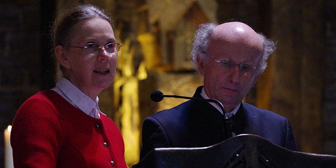 Würdigung: Ehepaar Martina und Bruno Mucha, Österreich (Foto: Neiser)