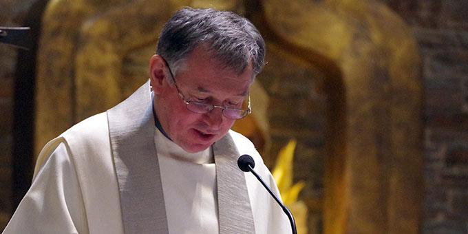Würdigung: Pater Otto Amberger (Foto: Neiser)