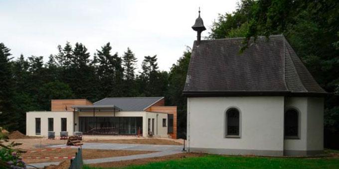 Baustelle des Schönstatt-Zentrums Oermter Marienberg (Foto: privat)