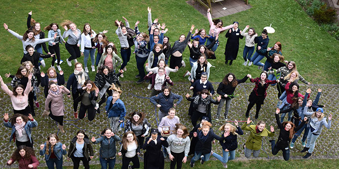 """""""RTA-Gruppenfoto"""" der Kursteilnehmerinnen (Foto: Kerstin Heistermann)"""