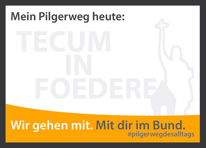 """""""Gnadenkapital"""" für den neuen Bischof (Grafik: Schönstatt-Bewegung, Fulda)"""