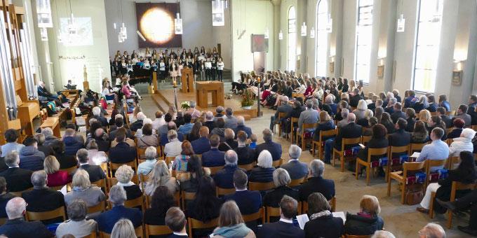 Ökumenischer Gottesdienst in der Pallottikirche (Foto: SMS)