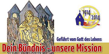 Jahresmotto 2014 der Schönstatt-Bewegung in Deutschland