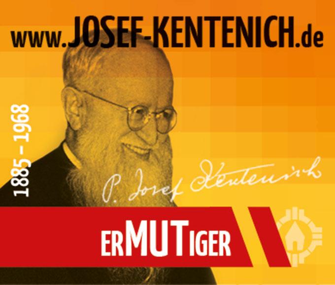 Pater Josef Kentenich - ErMUTiger (Foto: Neuenhofer, Gestaltung: POS Brehm)
