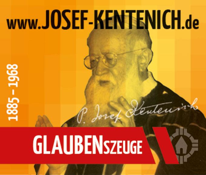 Pater Josef Kentenich - GLAUBENSzeuge (Foto: S-MS, Gestaltung: POS Brehm)