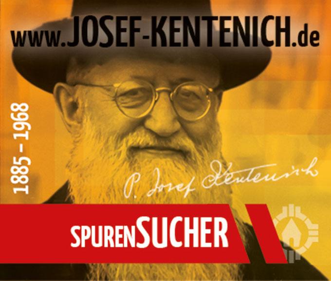 Pater Josef Kentenich - SpurenSUCHER (Foto: Neuenhofer, Gestaltung: POS Brehm)