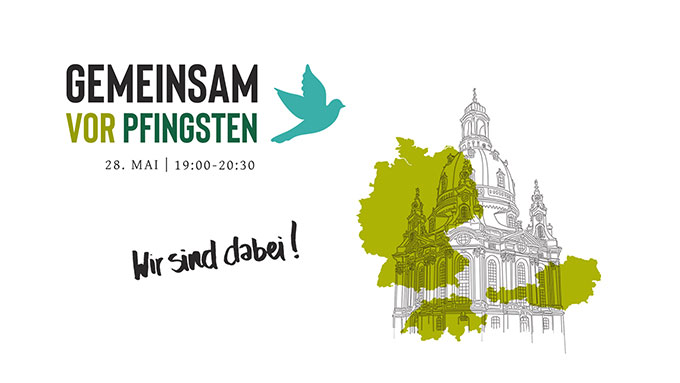 28. Mai 2020: Deutschlandweite, konfessionsübergreifende Gebetsinitiative (Foto: gemeinsamvorpfingsten.org)