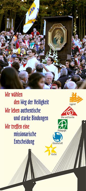Optionen für den Weg der Schönstatt-Bewegung in die Zukunft (Foto: Jubiläum 2014)