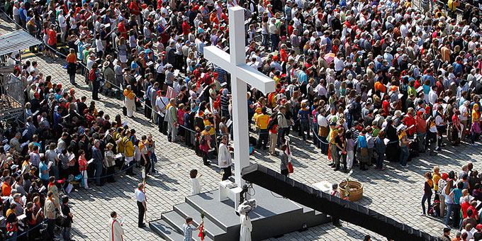 Katholikentag 2016: eine große Christenversammlung in Leipzig (Foto: katholikentag.de)