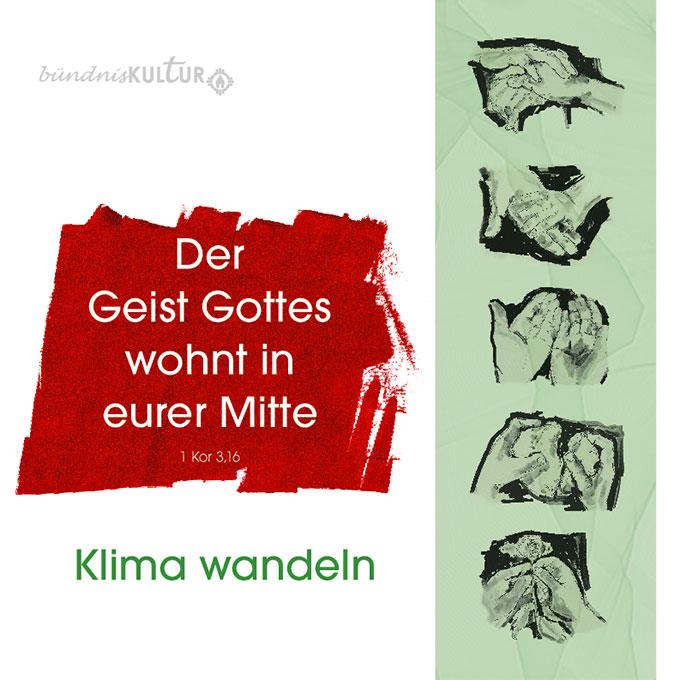 Jahresmotiv 2020 der Schönstatt-Bewegung in Deutschland Aufsteller (Grafik: Maria Kiess / POS Brehm)