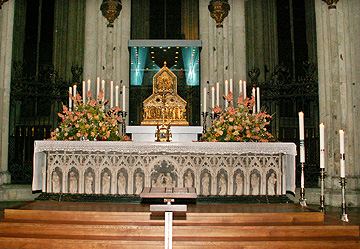 relicario de los Reyes Magos en la catedral de Colonia