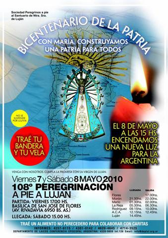 Afiche de la celebración del bicentenario
