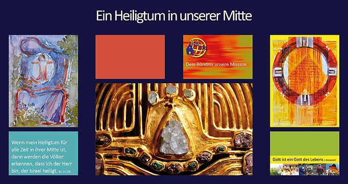 """Plakat im """"Heiligtumsjahr"""" 2012 (Foto: Brehm)"""
