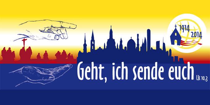 """Plakat im """"Jahr der missionarischen Strömung"""" 2013 (Foto: Brehm)"""