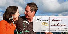 """Der neue Ehepaar-Newsletter """"Wir zwei - Immer wieder neu"""" ist erschienen  (Foto: © ARochau - Fotolia.com)"""