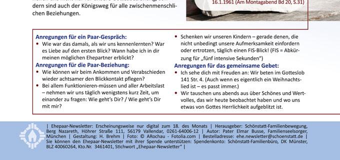 """Ehepaar-Newsletter """"Wir zwei - Immer wieder neu"""" (Foto: Brehm)"""