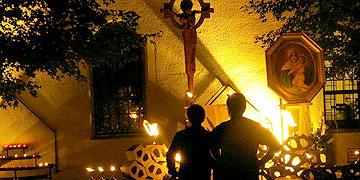 Nacht des Heiligtums am Urheiligtum in Schönstatt  (Foto: schoenstatt.org)