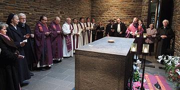 Abschluss des Gottesdienstes in der Anbetungskirche (Foto: ME Vilches)