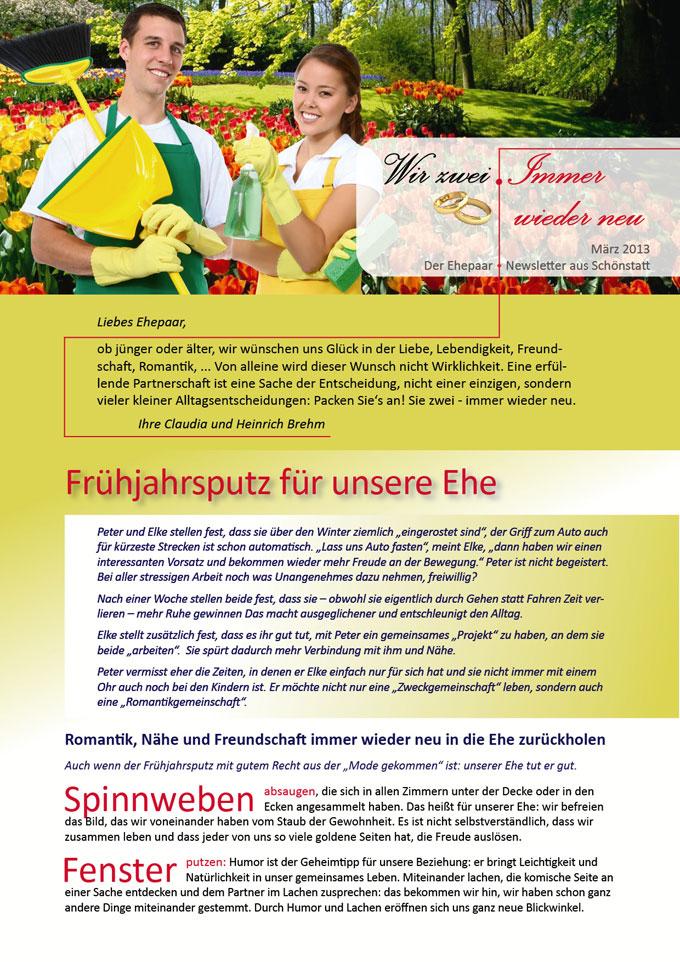 """Ehepaar-Newsletter """"Wir zwei - Immer wieder neu"""" (Foto: nruboc - clipdealer.com)"""