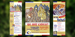 Plakatset zum Jubiläum 100 Jahre Schönstatt (Foto: Brehm)