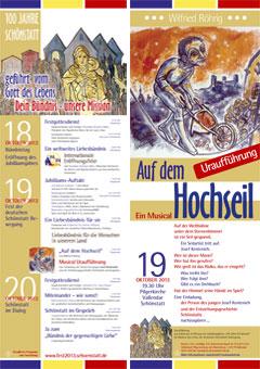 """Programm des Triduums und Musical """"Auf dem Hochseil"""""""
