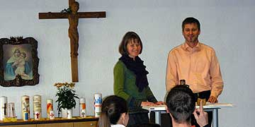 Impuls: Ehepaar Sonja und Bernhard Denkinger (Foto: Schulz)