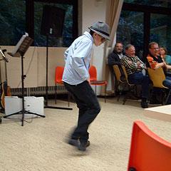 Tanzprogramm mit Sebastian am Samstagabend - das begeistert (Foto: AMBrück)