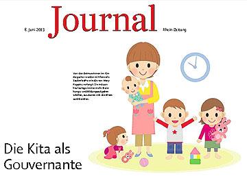 Rhein-Zeitung - Journal vom 8. Juni 2013 (Abbildung: Rhein-Zeitung)
