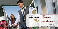 """Der neue Ehepaar-Newsletter """"Wir zwei - Immer wieder neu"""" ist erschienen  (Foto: gasmobil ag)"""