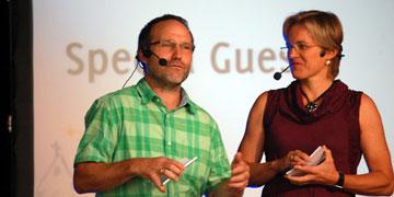 Die Special Guests: Manuela und Peter Miller (Foto: Brehm)