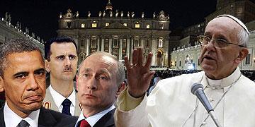 Syrienkonflikt (Montage: Brehm)