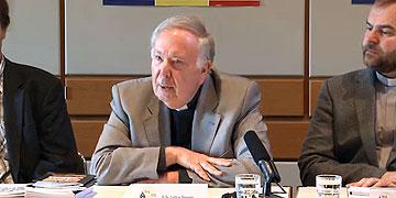 Pater Dr. Lothar Penners, Leiter der Schönstatt-Bewegung Deutschland (Foto: Vilches)