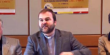 Pater Stefan Strecker, Koordinator im Zentral-Team 2014 (Foto: Vilches)