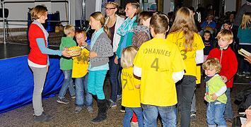 Auch die Kinder wurden ins Festprogramm miteinbezogen  (Foto: Kröper)