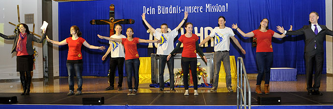 Jubiläumsauftakt in der Pilgerkirche (Foto: Kröper)