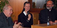 Begegnung mit Kardinal Rylko (Foto: Brehm)