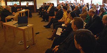 Begegnung verschiedener Gremien mit Kardinal Rylko (Foto: Brehm)