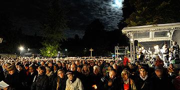 Die Teilnehmer erlebten einen Abend, der Lust macht auf die große Wallfahrt im Oktober 2014 (Foto: Kröper)