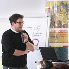 Dr. Stefan Groß, Pädagoge, Leiter Kommunikation & Moderation bei Neuland & Partner, Fulda