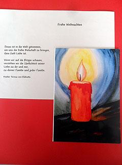 Kartenmotiv der Künstlerin Schwester Burgita Findling (Foto: Eldracher)