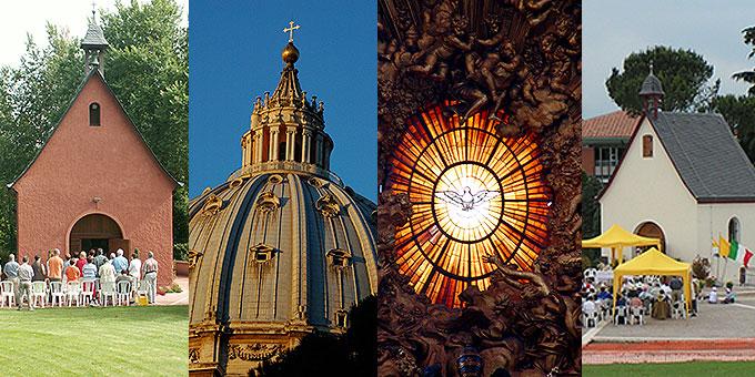 Von 23. bis 26. Oktober 2014 finden die Jubiläumsfeiern in Rom statt (Fotos: Archiv)