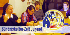 Planungstagung Bündniskultur-Zelt Jugend (Foto: Jall)