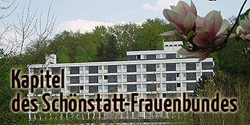 Das Kapitel des Schönstatt-Frauenbundes tagte in Haus Mariengart (Foto: Archiv)