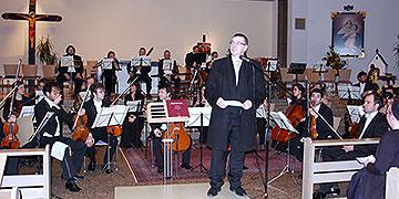 Dr. Alexander Saftig, Landrat des Kreises Mayen-Koblenz, stellte den Zusammenhang zwischen dem Jubiläum Schönstatts und dem Konzert dar  (Foto: Brehm)