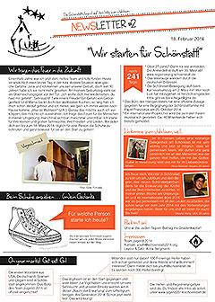 """Newsletter """"Wir starten für Schönstatt"""" 18.2.2014"""